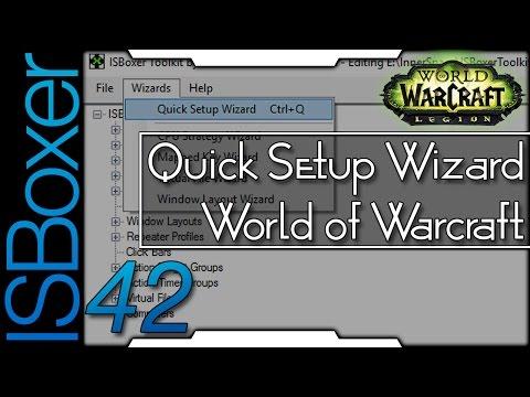 ISBoxer 42 — Quick Setup Wizard — World Of Warcraft