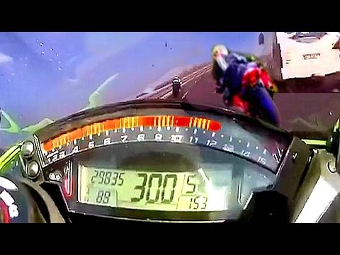 Thumbnail: ♿ This is how 300 KM/H BIKE CRASH sounds like...