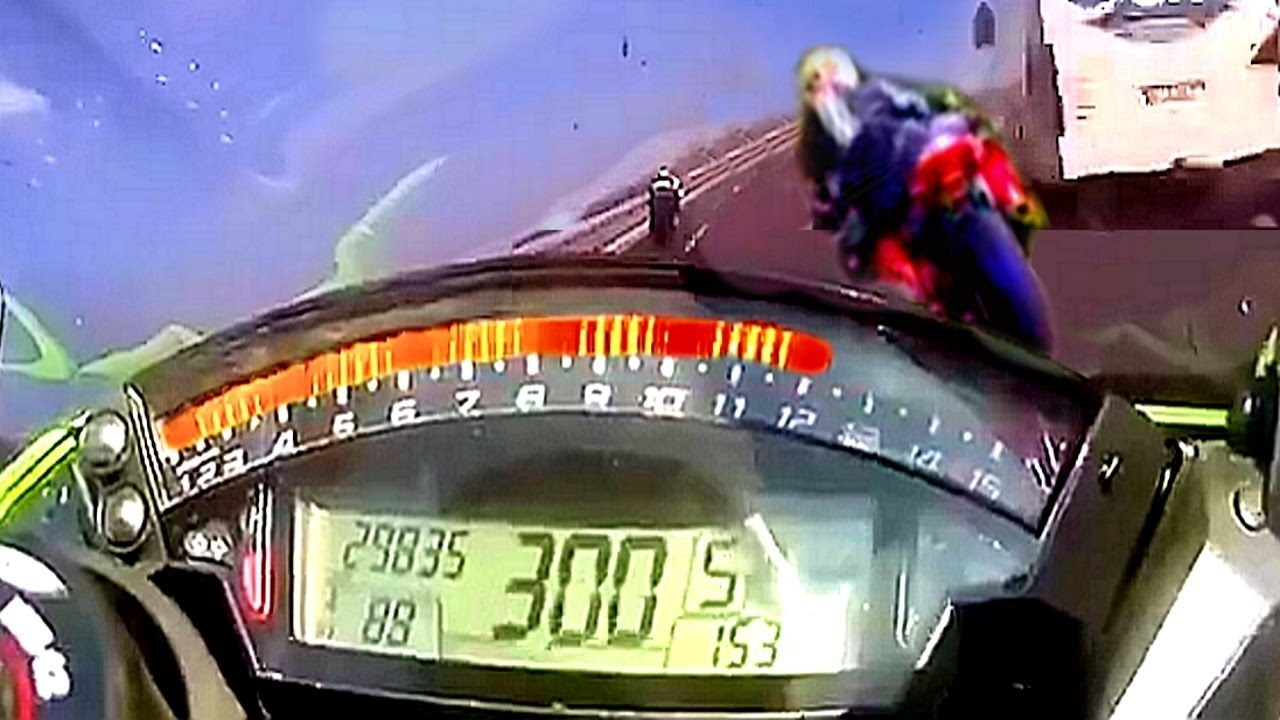 This Is How 300 Kmh Bike Crash Sounds Like Safety
