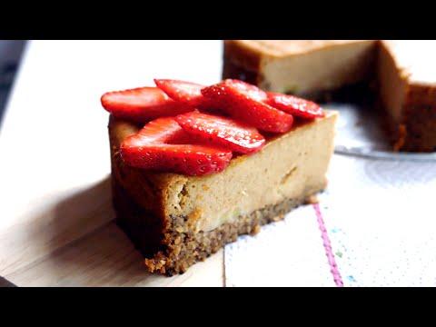 tofu-cheesecake- -vegan-dessert