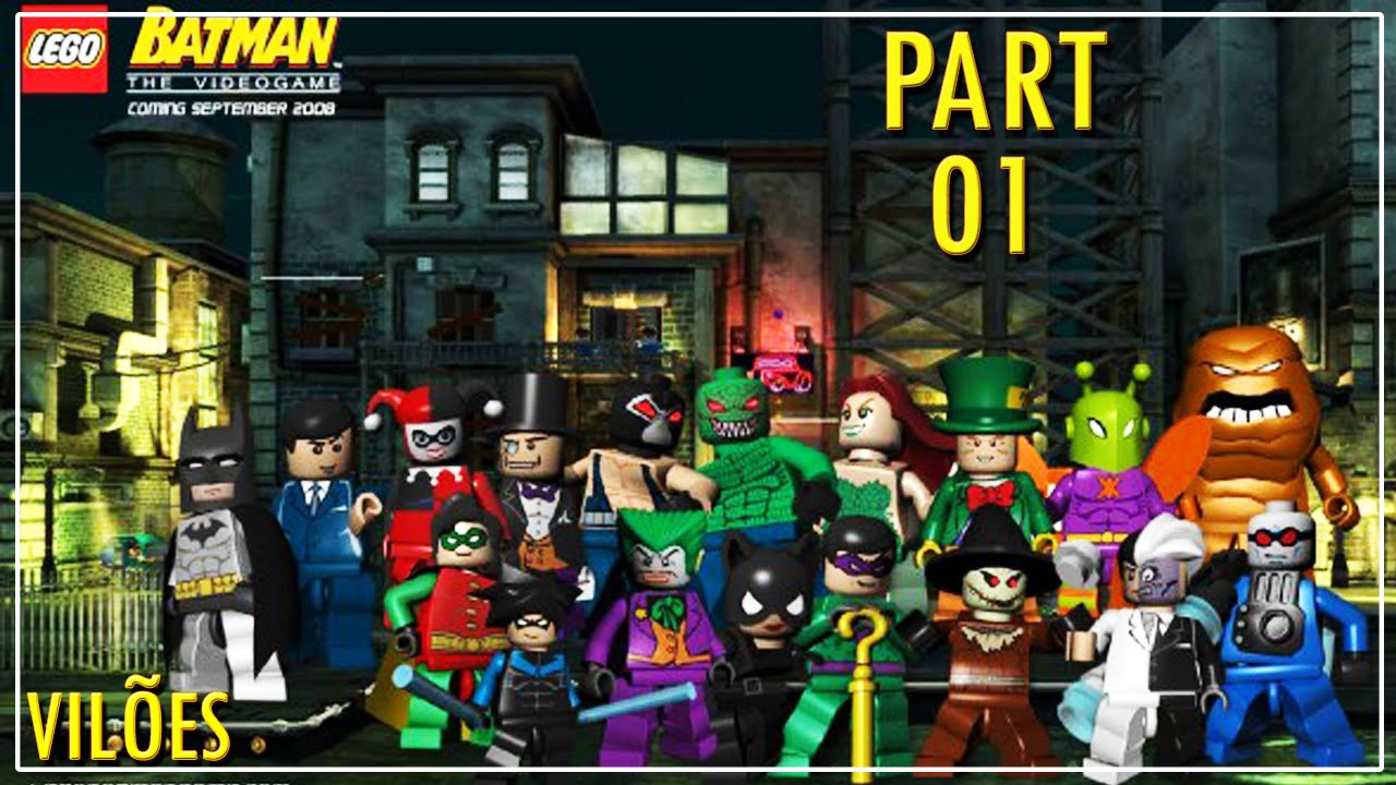 LEGO Batman The Video Game |Viles| The Riddler e Clayface ...