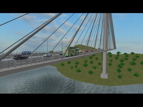 Omsi The Bus Simulator Map:Great Grundorf 2 : Route A4 to the Airport