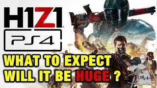 WILL H1Z1 BE HUGE ON PS4? PC DIFFERENCES AND WHAT TO EXPECT!