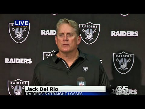 KPIX Fifth Quarter: Raiders Coach Jack Del Rio Speaks to Media