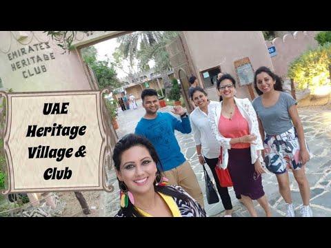 UAE Heritage Village Abu Dhabi   Emirates heritage club   Mamta Sachdeva   Cabin Crew Day off  