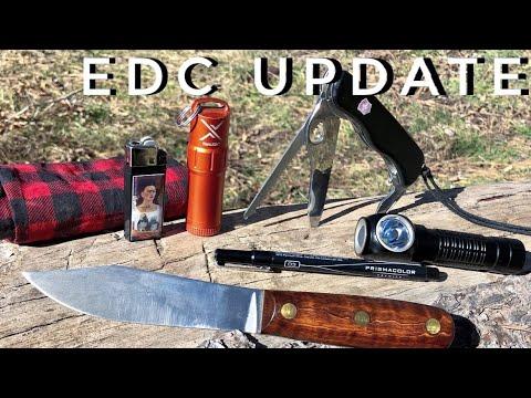 2019 Winter EDC Update(New Knife, New Flashlight, New Lighter) -Junkyard Fox