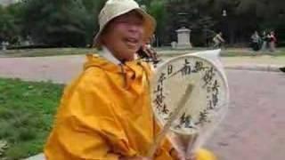 Buddhist Nun Chanting for Peace