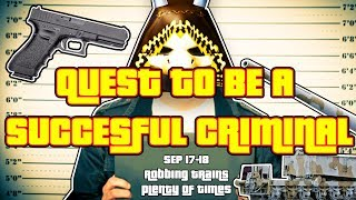 QUEST TO BE A SUCCESSFUL CRIMINAL! | ROBLOX Jailbreak