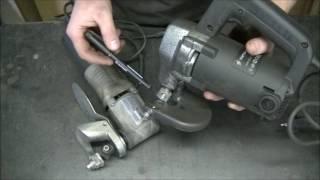 Обзор электрических ножниц Титан ПВН66-32 и Интерскол НН-2,5/520