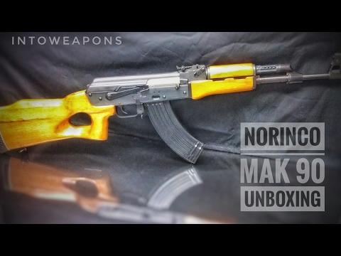 MAK-90 AK Rifle:  Disassembly & Shooting
