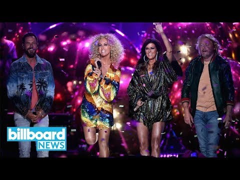 Little Big Town Open the 2018 CMT Music Awards With Summer Fever Performance  Billboard News