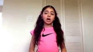 اعطونا الطفولة Natalie singing 3atona tofole Arabic, French & English