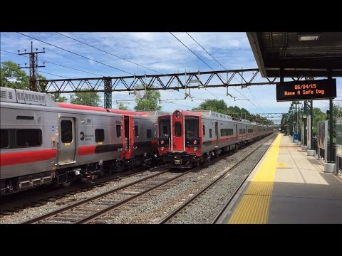 Amtrak & Metro-North Railroad HD 60fps: Early Afternoon Horn Action @ Mamaroneck 6/4/15