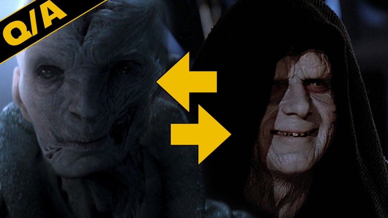 How Are Snoke and Kylo Ren Different from the Sith – Star Wars Explained Weekly Q&A