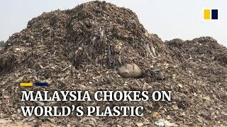 Malaysian town inundated with imported plastic waste after China's ban