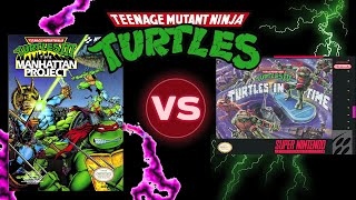 WHICH GAME IS BETTER? TMNT3 VS TMNT4