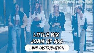 Little Mix - Joan of Arc (Line Distribution) Video