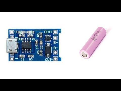 TP4056 Ile 18650 Pil Şarj Cihazı Yapımı