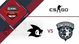 n0_0rg vs tomorrow.gg - Mecz #1 - Mirage | ESL Mistrzostwa Polski S16. W7D1
