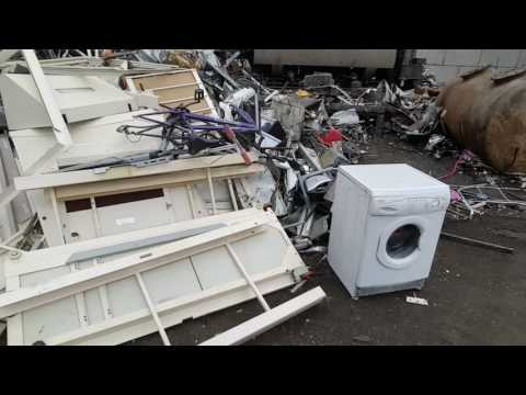 2 trips to the scrap yard in East London and picking up 3 appliances in between
