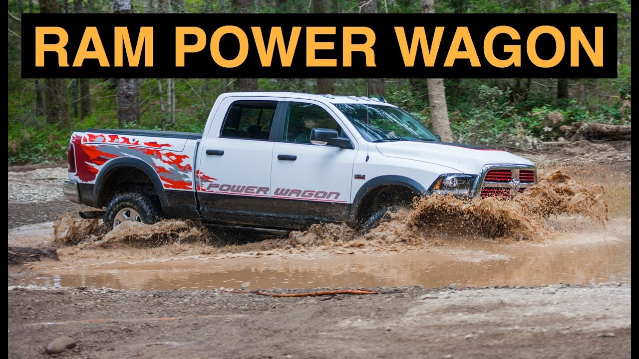 2015 Ram 2500 Power Wagon 4x4 Off Road And Track Review Youtube