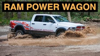2015 Ram 2500 Power Wagon 4x4 - Off Road And Track Review