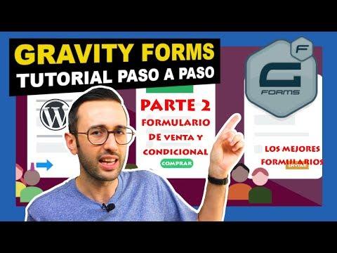 🤑 Gravity forms Tutorial parte 2 - Formulario condicional para vender productos en tu web WordPress thumbnail