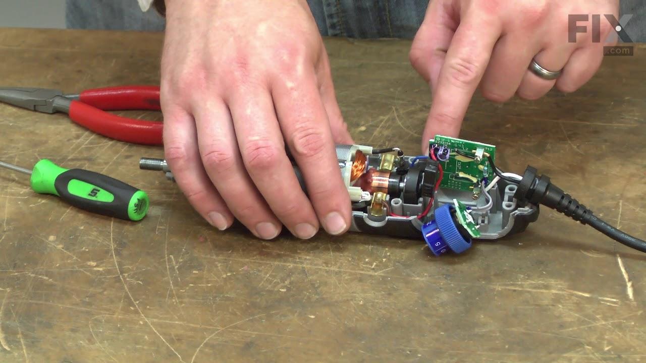 dremel wiring diagram dremel rotarytool repair how to replace the electronic speed  dremel rotarytool repair how to