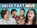 Teens Guess That Movie Challenge #2 (React)