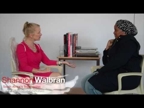 Shannon Walbran, South Africa's top psychic, Q&A on creating a dream job