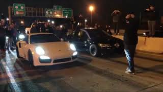 I-Streetrace - Porsche 911 Turbo VS Mitsubishi EVO for $20,000...