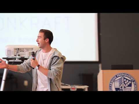 Houston Kraft - Full Speech at Bellarmine Preparatory School on 8.30.17