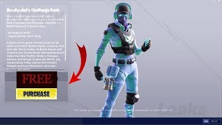 VOICI THE PROCHAIN PACKS ON FORTNITE! (PACKS BREAKPOINT'S CHALLENGE PACK)