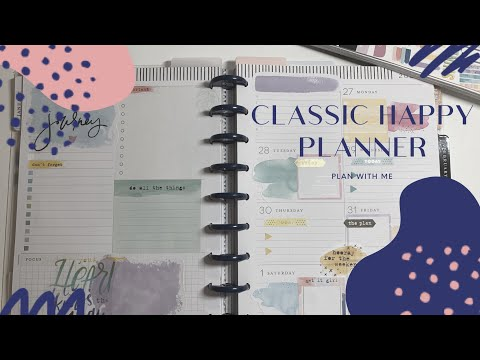 Classic Happy Planner | Plan With Me | Homebody