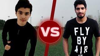 تحديات ضد عبد الرحمن الشلهوب!!! | كرة القدم مع الباركور😍🔥 | Football Challenge
