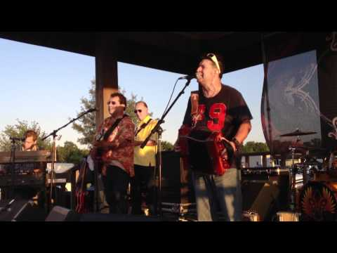 Wayne Toups & Zydecajun at the 2012 Louisiana State HOG Rally