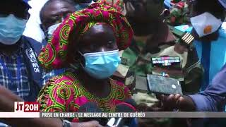 Coronavirus visite au centre de Guéréo