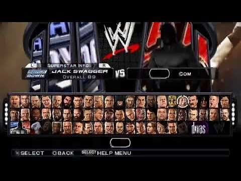 all wwe games for psp
