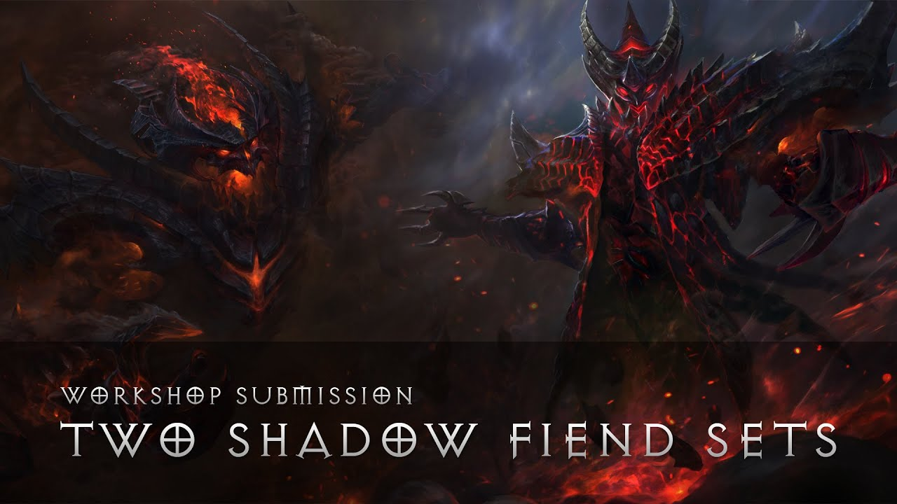 dota 2 shadow fiend set workshop vote youtube