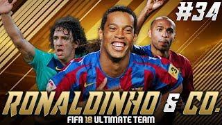 To jest niemożliwe! - FIFA 18: RONALDINHO & CO. [#34]