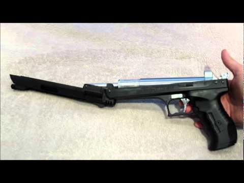 Beeman p17 (2004 E) pneumatic .177 Air Pistol Tabletop Review