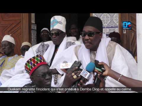 Ouakam regrette l'incident qui s'est produit à Demba Diop et appelle au calme