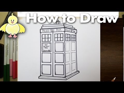 how to draw the 11th doctor step by step