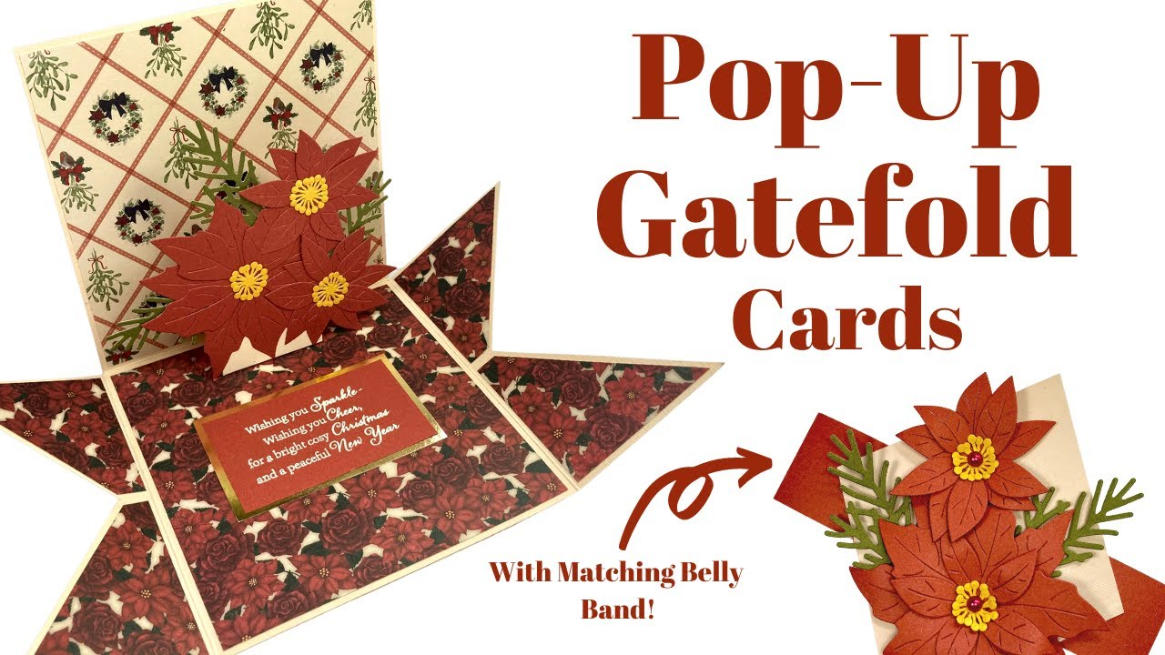 How to Make an Unusual Pop-Up Gatefold Card!