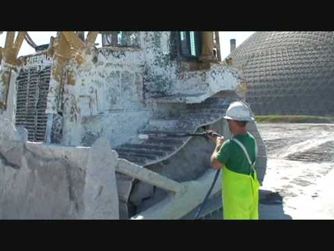 Power Gen Facility Heavy Equipment Cleaning With Protec A-40 By TWI