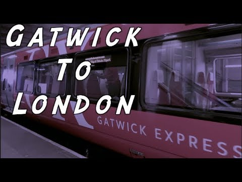 Norwegian Air Passengers - Get From Gatwick To London On The Train