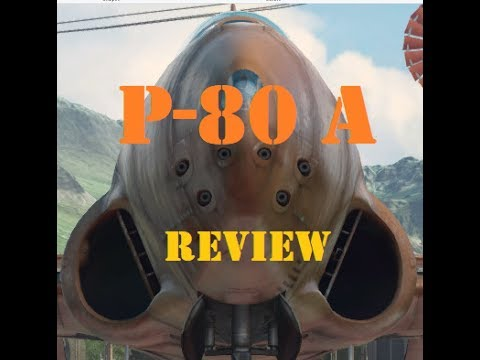 Gaming Bear P-80 A  Review American Fighter Plane World of Warplanes