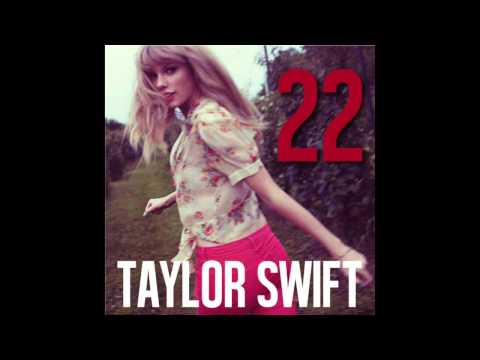 Taylor Swift - 22 Karaoke Cover Backing Track Acoustic Instrumental