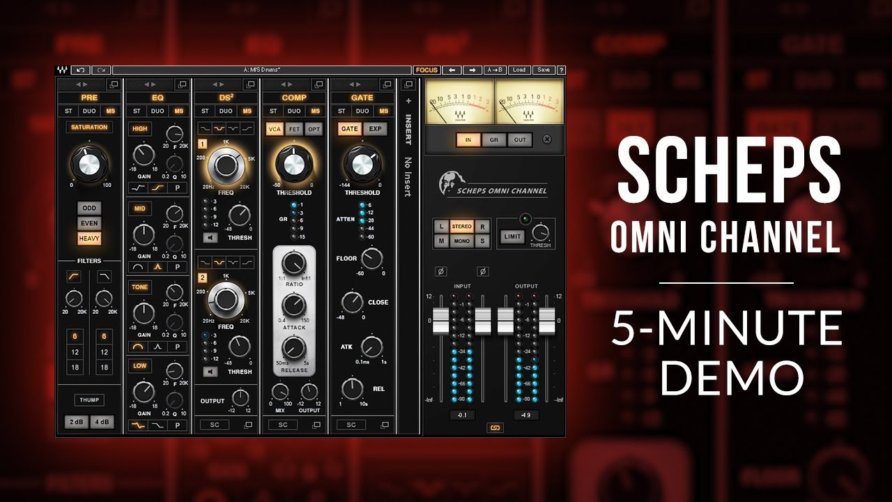 Review: Scheps Omni Channel from Waves | Audio Plugin Guy