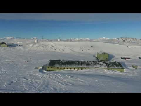Rothera Research Station tour